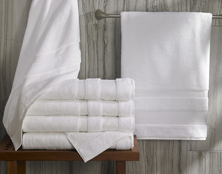 Waffle Bath Towel Cotton Bath Linens Robes Le Grand Bain And More At The Sheraton Store